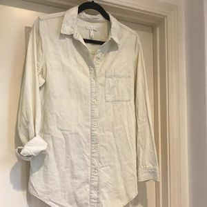 Nordstrom brand Leith Chambray Shirt
