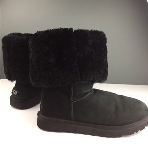 Authentic Women's UGG boots Black tall ✨