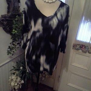 Cynthia  Rowley tie dye  high/low top size 1X