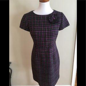 Eliza J Boucle Tweed dress