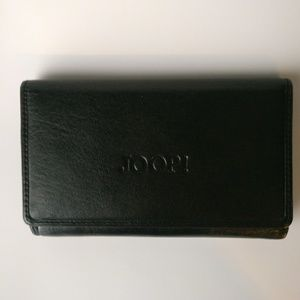 Black Joop! Wallet all leather.