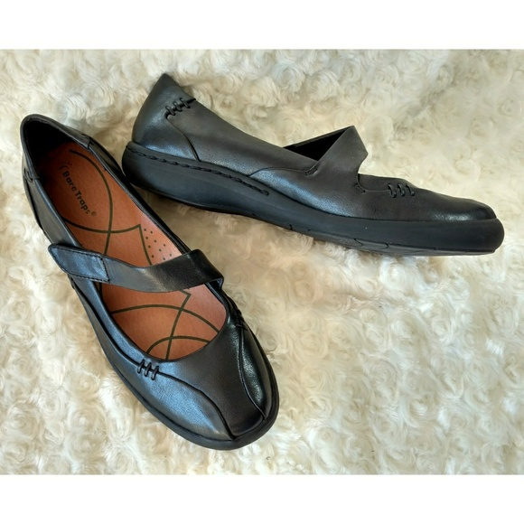 Bare Traps Landon round toe black Mary Janes