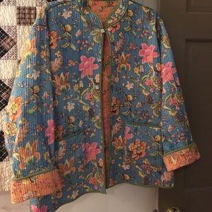 Gorgeous reversible ladies jacket.