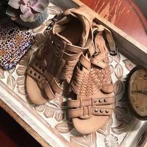 Bed Stu- NEVER WORN gladiator sandals