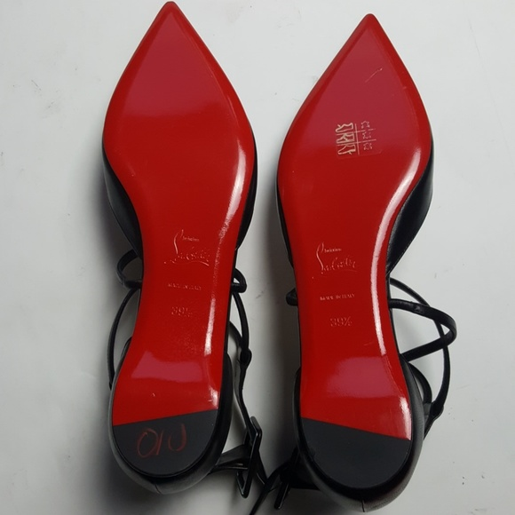 info for 8f678 f5f3d Christian Louboutin Susanna D'Orsay flats Boutique