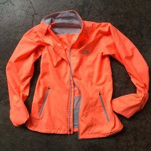 Neon North Face Wind Jacket