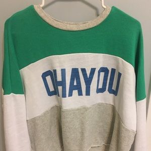 OHAYOU cropped sweater