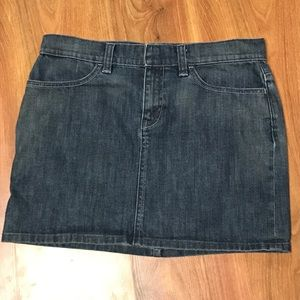 GAP denim mini skirt