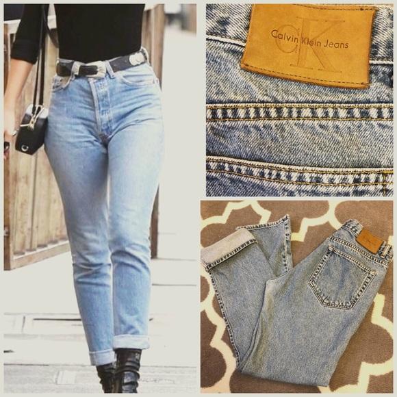 ed46b527 •Vintage 90s High Waisted Calvin Klein Jeans•. M_59ebd3f541b4e0b58d05b2d1