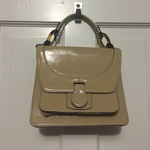 Tan small handbag