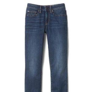 Mid rise curvy true skinny Gap Jeans