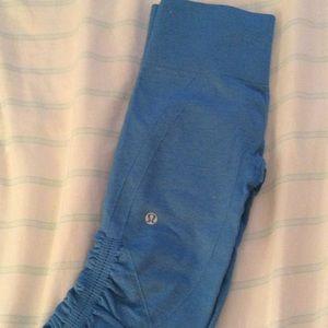Blue lululemon leggings