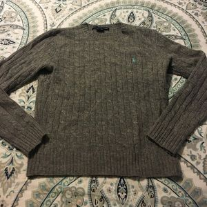 Women's Med. Ralph Lauren 100% Lambswool Sweater
