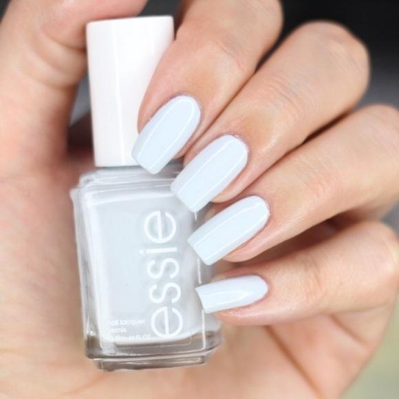 Makeup | Essie Find Me Oasis Baby Blue Nail Polish | Poshmark