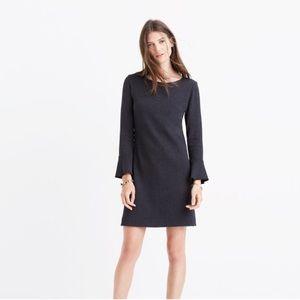 Madewell Knit Bell Sleeve Shift Dress