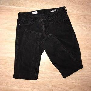 Gap 1969 Black Skinny Jeans