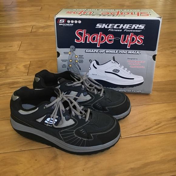 skechers shape ups men's size 13