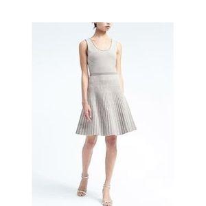 NWT Banana Republic Stripe Knit Fit & Flair Dress