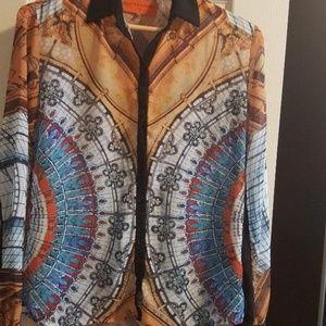 Clove Canyon shirt multicolor long sleeve