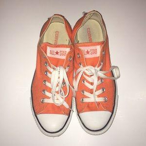 Orange converse!