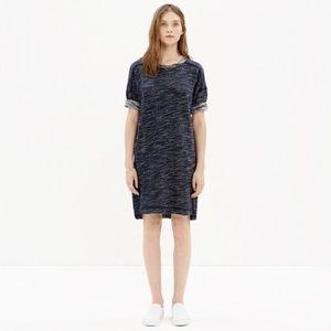 Madewell Textured Sweatshirt Dress