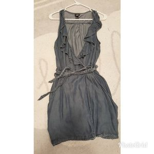 H&M wrap around jeans dress
