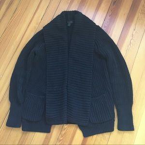 J.Crew heavy cotton cardigan/sweater jacket