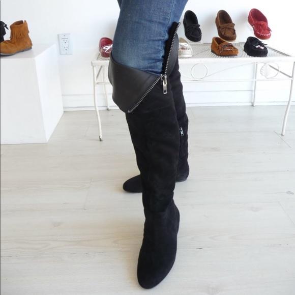 0316609eabc •Sam Edelman•  James  Over The Knee Boots. M 59ebd9dc8f0fc47e2905bd0a