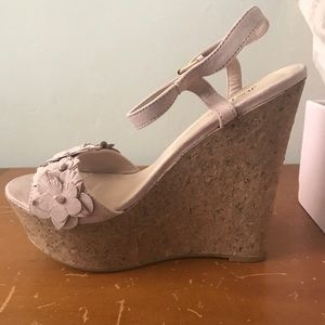 Just Fab Wedges Brand new still in box never worn
