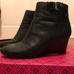 Tory Burch black booties