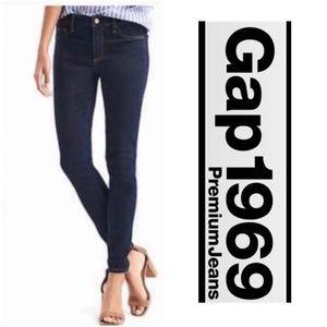 NWOT Gap 1969 Dark Wash Legging Jean