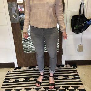 Light wash grey jeans