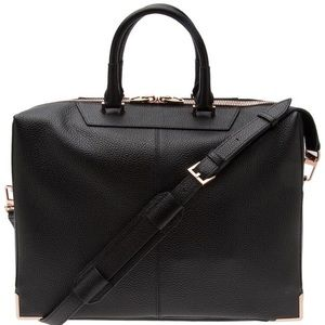 Alexander Wang Prisma Briefcase in Black