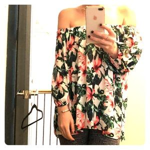 Vince csmuto OTS floral shirt
