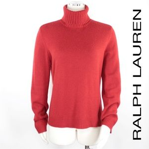 Ralph Lauren | 100% Cashmere Thick Turtleneck 894