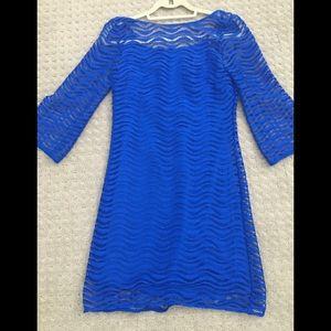 Lilly Pulitzer Cobalt Blue Dress