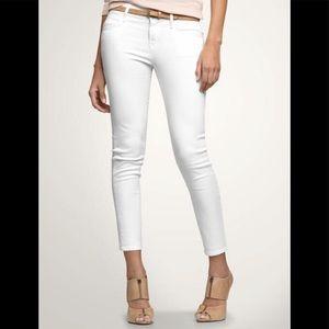 Gap 1969 White Legging Jean