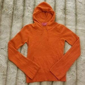Juicy Couture cashmere sweater hoodie
