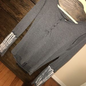 Free people cotton long sleeve