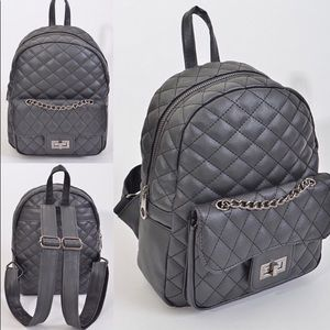 Coming Soon🎉 Pink Haley quilted fashion Backpack
