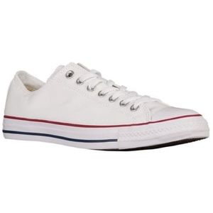 Converse All Star White Leather Sneakers