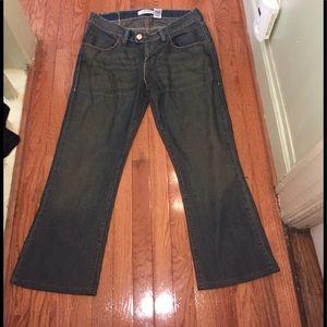 ➕Levi's 504 Slouch Bootcut Jeans Sz 16S
