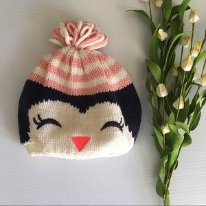 Gymboree Knit Penguin Hat Toddler 2T 3T