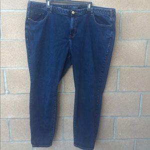 Lane Bryant Skinny Ankle Jeans 26 R 47x29.5 VGUC