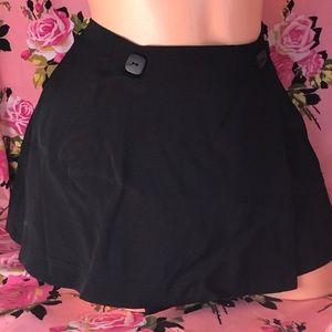 Betsey Johnson mini wrap skirt cape gothic grunge