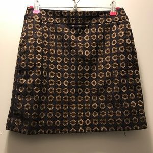Mini skirt with side pockets
