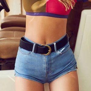 BDG Pinup high rise denim shorts