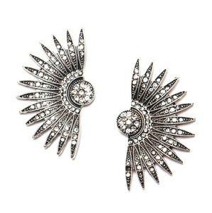 The Gatsby Fan Earrings
