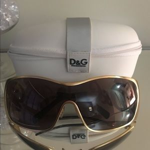 Dolce and Gabbana (Large) Square sunglasses