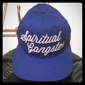💙Spiritual Gangster Royal Blue Snap Back Hat 💙